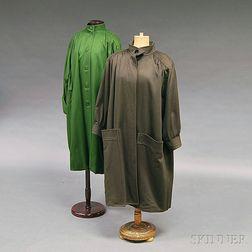 Two Lady's Designer Coats