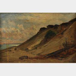 Sylvester Phelps Hodgdon (American, 1830-1906)      Quiet Dunes