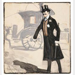 Childe Frederick Hassam (American, 1859-1935)      Dandy