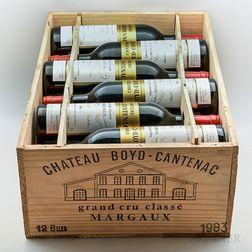 Chateau Boyd Cantenac 1983, 12 bottles (owc)