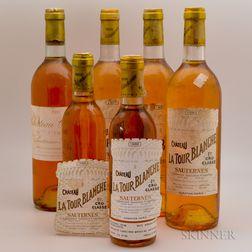 Mixed Sweet Bordeaux Wine, 4 bottles 2 demi bottles