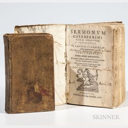 Early Books: Two Titles: 1571 and 1672.