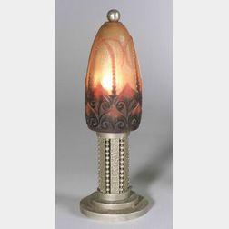 Art Deco G . Argy Rousseau Boudoir Lamp