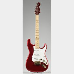 American Electric Guitar, Fender Musical Instruments, c. 1980, Model Strat