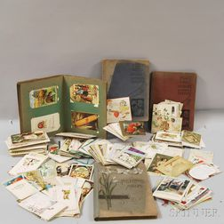 Collection of Vintage Lithograph Postcards