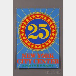 Five Prints from 25th Anniversary City Center of Music and Drama Portfolio