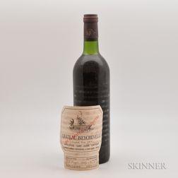 Chateau Beychevelle 1975, 1 bottle