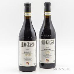 Elio Grasso Barolo Ginestra Casa Mate 2010, 2 bottles