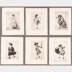 Fifteen Ballet Russes Photographs from the 1924 Ballet Les Fâcheux