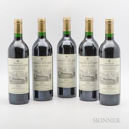 Chateau La Mission Haut Brion 1995, 5 bottles