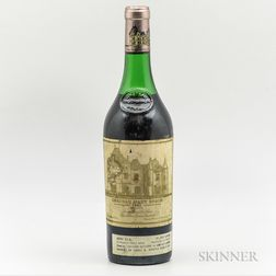 Chateau Haut Brion 1981, 1 bottle