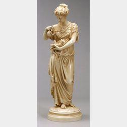 Robinson & Leadbeater Porcelain Figure of a Classical Female