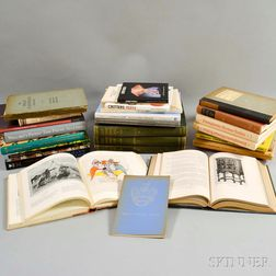 Large Group of Art and Antique Reference Books