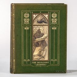 The Ingoldsby Legends, or Mirth & Marvels  , Illustrated by Arthur Rackham, in a Vellucent Cedric Chivers Binding.