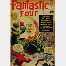 Silver Age Fantastic Four  , No. 1