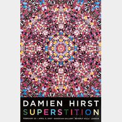 Damien Hirst (British, b. 1965)      Superstition