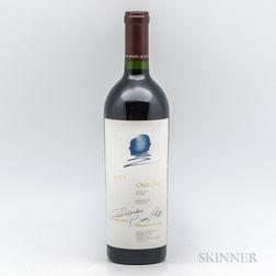Opus One 2001, 1 bottle