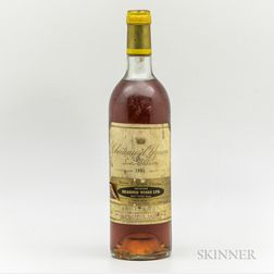 Chateau dYquem 1981, 1 bottle