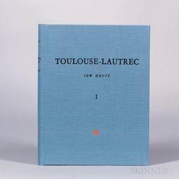 Dortu, Madeleine Grillaert (fl. circa 1970) Toulouse-Lautrec et Son Oeuvre.