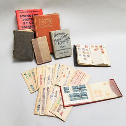 Group of American and World Stamps and Stamp Catalogs