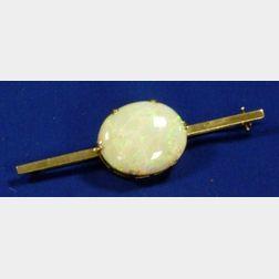 Opal Bar Pin