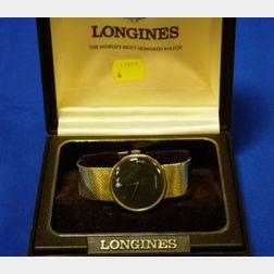 Longines Man's 14kt Gold Watch