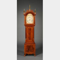 Mahogany Dwarf Clock by Foster Campos