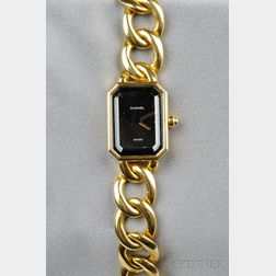 18kt Gold Wristwatch, Chanel
