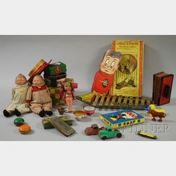 Group of Assorted Toys and Games