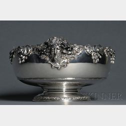 Fine Tiffany & Co. Sterling Fruit Bowl with Bacchante Handles