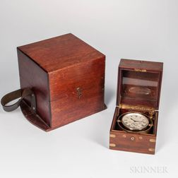 U.S. Navy No. 127 Waltham Watch Co. Eight-day Chronometer and Two Waltham Stock Certificates