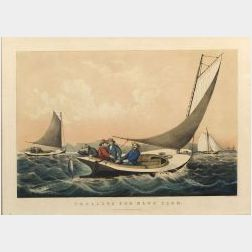 Currier & Ives, publishers (American, 1857-1907)  TROLLING FOR BLUE FISH.