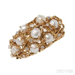 18kt Gold and Gem-set Bracelet, Arthur King