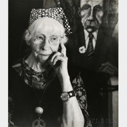 Imogen Cunningham (American, 1883-1976)      Self-Portrait