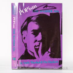 Warhol, Andy (1928-1987) POPism, the Warhol 60s  , Signed Copy.