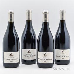 Benjamin Romeo La Vigna del Andres Romeo 2005, 4 bottles