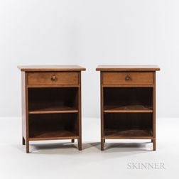 Two Walker Weed Nightstands