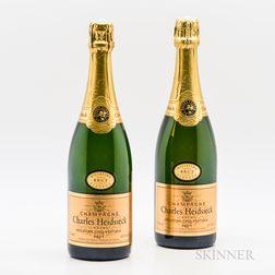 Charles Heidsieck Brut Millesime 1996, 2 bottles