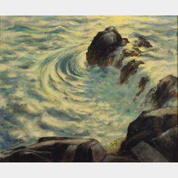 Leo John Meissner (American, 1895-1977)    Swish and Swirl