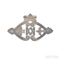 Silver Luckenbooth Brooch