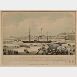 James Alexander, publisher (American, 19th Century) The Cunard Royal Mail Steamship Britannia (John H...
