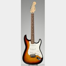 American Electric Guitar, Fender Musical Instruments, c. 1991, Model Stratocaster