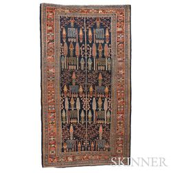 Antique Bidjar Carpet