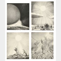Rockwell Kent (American, 1882-1971)      The End of the World