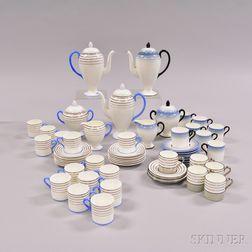 Approximately Sixty-one Wedgwood Bone China Tea Wares