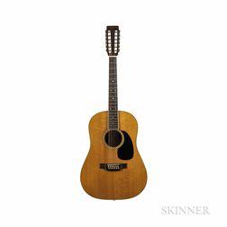 C.F. Martin & Co. D12-35 Twelve-string Acoustic Guitar, 1968