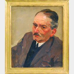 James Jeffrey Grant (American, 1883-1960)      Portrait of a Man.