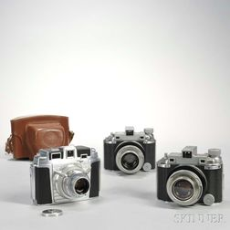 Kodak Chevron and Two Medalist I Cameras