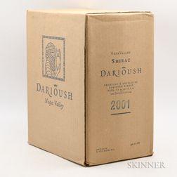 Darioush Shiraz 2001, 6 bottles (oc)
