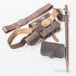 Civil War-era Leather Accoutrements